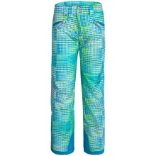 Spyder Vixen Athletic Pants - Waterproof, Insulated (For Big Girls) in Riviera Diamond Print - Closeouts
