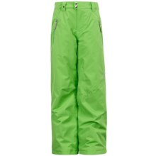 Spyder Vixen Ski Pants - Insulated (For Girls) in Green Flash - Closeouts