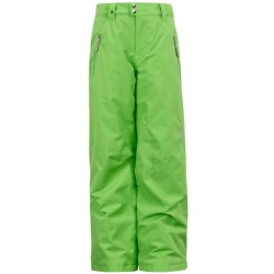 Spyder Vixen Ski Pants - Insulated (For Girls) in Green Flash