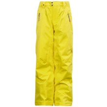 Spyder Vixen Ski Pants - Insulated (For Girls) in Taxi - Closeouts