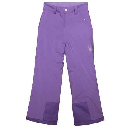 Spyder Vixen Ski Pants - Waterproof, Insulated (For Big Girls) in Iris - Closeouts