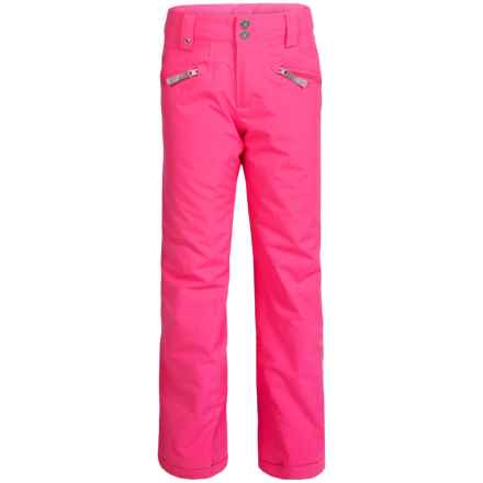 Spyder Vixen Tailored Ski Pants - Waterproof, Insulated (For Big Girls) in Bryte Bubblegum - Closeouts