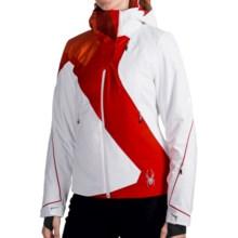 Spyder Volt Jacket - PrimaLoft® (For Women) in White/Volcano - Closeouts