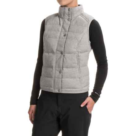 Spyder Vyvyd Vest (For Women) in Image Gray Stripe Fabric - Closeouts
