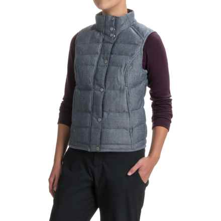 Spyder Vyvyd Vest (For Women) in Sagan Tweed Fabric - Closeouts