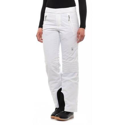 e88fff86e7cad Spyder Winter Ski Pants - Waterproof, Insulated (For Women) in White/White