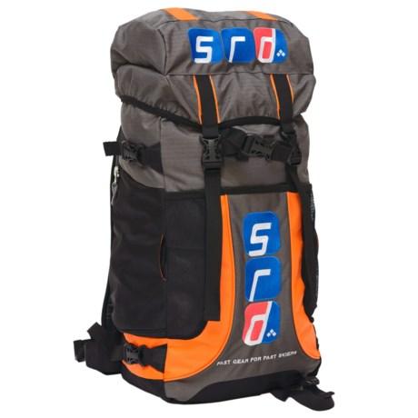 SRD Athlete V3.0 Backpack in Charcoal/Orange/Black