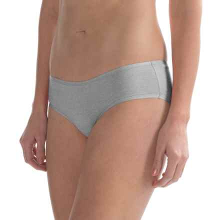 St. Eve Invisibles Hipster Panties - Stretch Cotton (For Women) in Heather Grey - Closeouts
