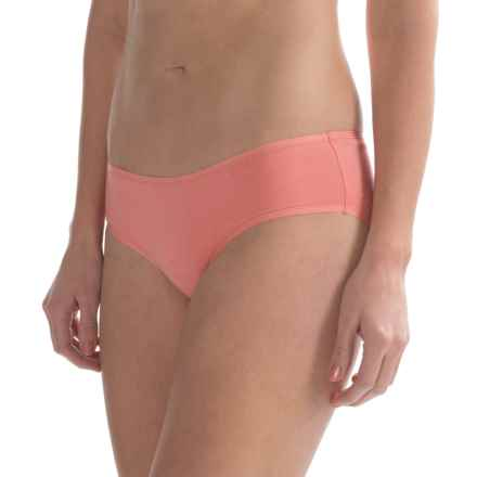 St. Eve Invisibles Hipster Panties - Stretch Cotton (For Women) in Salmon Rose - Closeouts