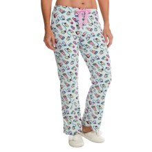 St. Eve Microfleece Lounge Pants - Gift Packaged (For Women) in Bundle Up - Closeouts