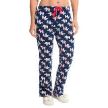 St. Eve Microfleece Lounge Pants - Gift Packaged (For Women) in Elefriends - Closeouts