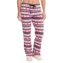 St. Eve Microfleece Lounge Pants - Gift Packaged (For Women) in Friendly Fair Isle - Closeouts