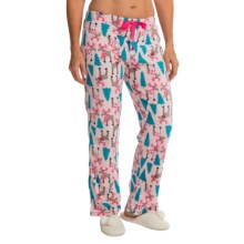 St. Eve Microfleece Lounge Pants - Gift Packaged (For Women) in Winter Moose - Closeouts