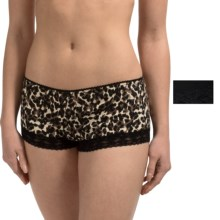 St. Eve Modern Magic Panties - Boy Shorts, 2-Pack (For Women) in Cheetah - Closeouts