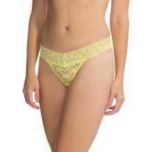 St. Eve Seamless Panties - V-Waist, Thong (For Women) in Sunny Lime - Overstock