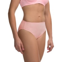 St. Eve Stretch Cotton Panties - Hi-Cut Briefs (For Women) in Pink - Overstock
