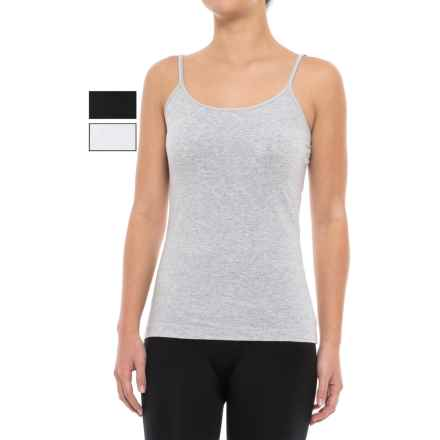 St. Eve Varied-Color Camisole Set - 3-Pack (For Women) in Black/Grey/White - Closeouts