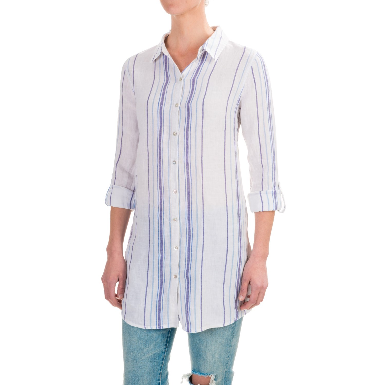 Shop for long white tunic online at Target. Free shipping on purchases over $35 and save 5% every day with your Target REDcard.