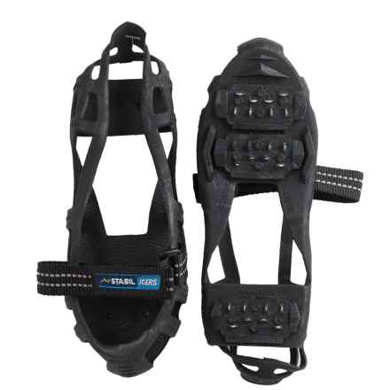 Stabil Stabilicer Hike Ice Treads (For Men and Women) in Black - Closeouts
