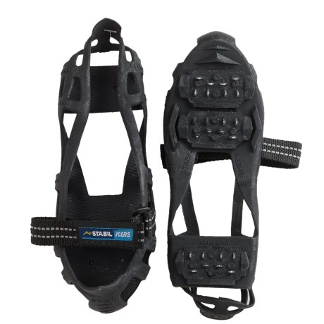 Stabil Stabilicer Hike Ice Treads (For Men and Women) in Black