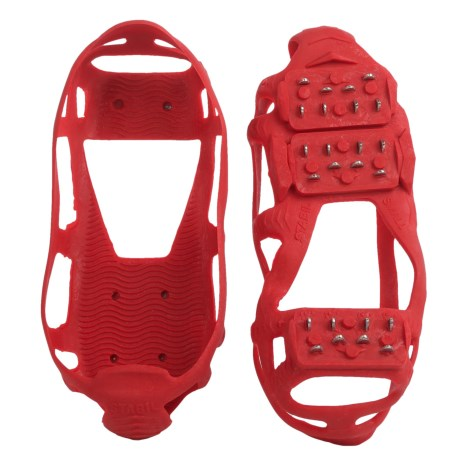 Stabil Stabilicer Walk Ice Treads (For Men And Women) in Red