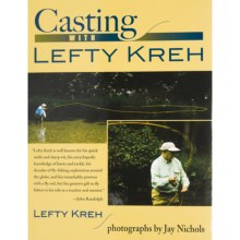Stackpole Books Casting with Lefty Kreh Book - By Lefty Kreh, Hardcover in See Photo - Closeouts