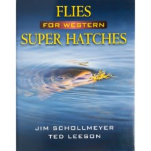 Stackpole Books Flies for Western Super Hatches Book - By Schollemeyer/Leeson, Hardcover in See Photo - Closeouts