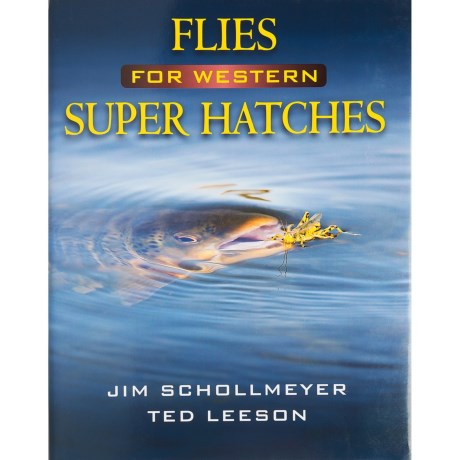 Stackpole Books Flies for Western Super Hatches Book - By Schollemeyer/Leeson, Hardcover in See Photo