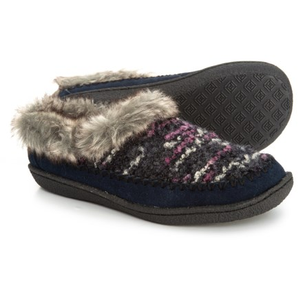 501e484982c Staheekum Serene Boucle Slippers (For Women) in Navy - Closeouts