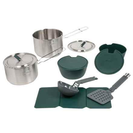 Stanley Adventure 2-Pot Prep and Cook Mess Kit Set in See Photo - Closeouts