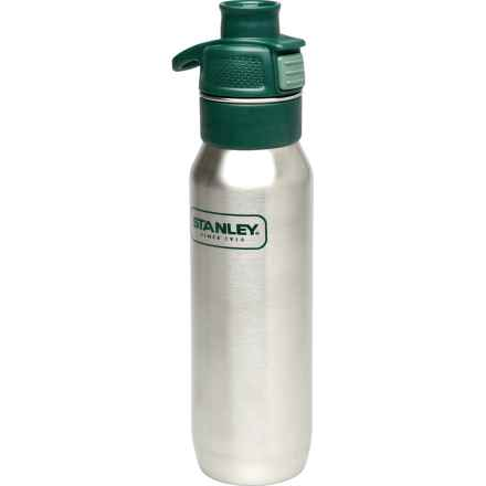Stanley Adventure One-Handed Stainless Steel Water Bottle - 24 fl.oz. in Silver - Closeouts