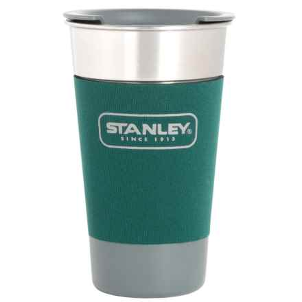 Stanley Adventure Stainless Steel Pint Mug - 16 fl.oz. in Green - Closeouts