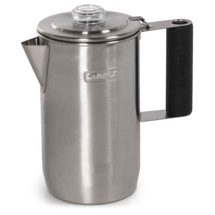 Stanley Adventure Steel Coffee Percolator - BPA-Free, 1L in Stainless Steel - Closeouts