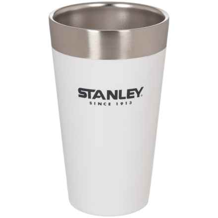 Stanley Adventure Vacuum-Insulated Stacking Tumbler - 16 oz. in White - Closeouts