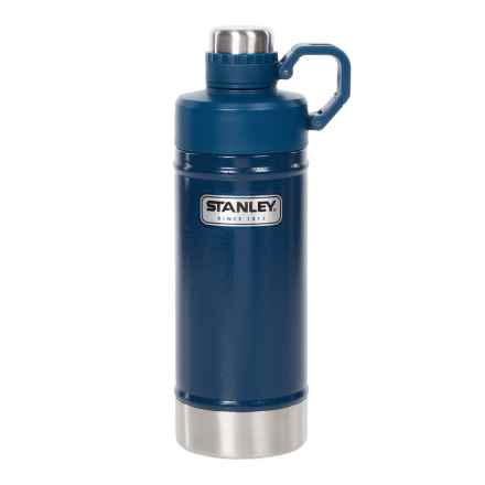 Stanley Classic Vacuum Water Bottle - 18 fl.oz. in Hammertone Cobalt - Closeouts