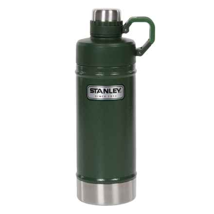 Stanley Classic Vacuum Water Bottle - 18 fl.oz. in Hammertone Conifer - Closeouts