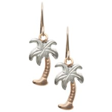 Stanley Creations Palm Tree Earrings - 10K Gold in Gold - Closeouts