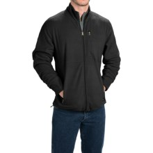 Stanley Fleece Jacket - Full Zip (For Men) in Black - Closeouts