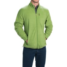 Stanley Fleece Jacket - Full Zip (For Men) in Lime - Closeouts
