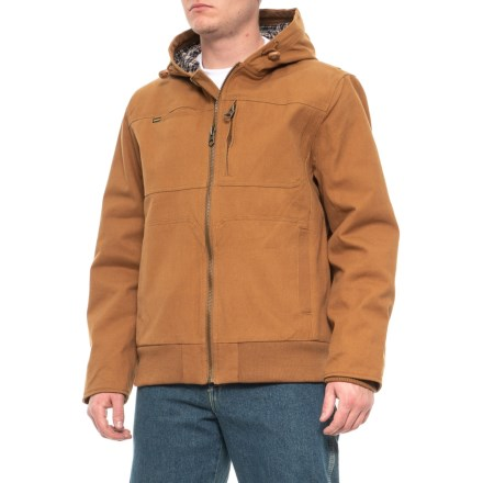 bc77707c Stanley Heavy Duck Flannel Quilt Lined Jacket (For Men) in Almond -  Closeouts