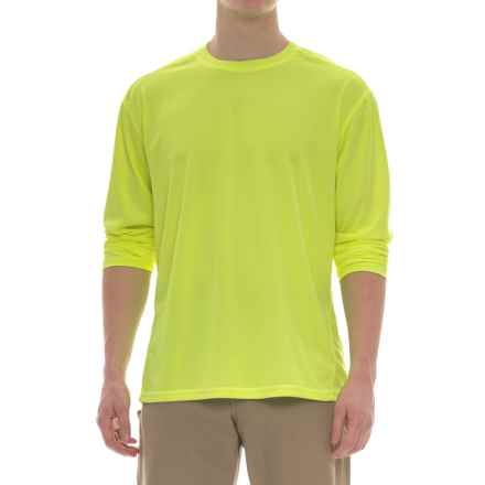 Stanley High-Performance Hi-Vis T-Shirt - Long Sleeve (For Men) in Hi Vis Yellow - Closeouts