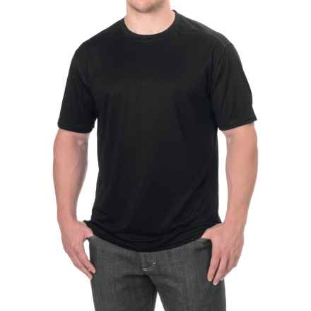 Stanley High-Performance T-Shirt - Crew Neck, Short Sleeve (For Men) in Black - Closeouts
