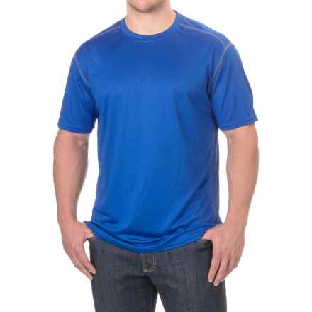 Stanley High-Performance T-Shirt - Crew Neck, Short Sleeve (For Men) in Royal Blue - Closeouts