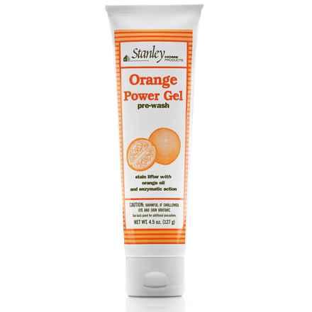 Stanley Home Products Orange Power Gel Pre-Wash in Orange - Closeouts