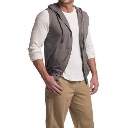Stanley Hooded Vest (For Men) in Charcoal - Closeouts