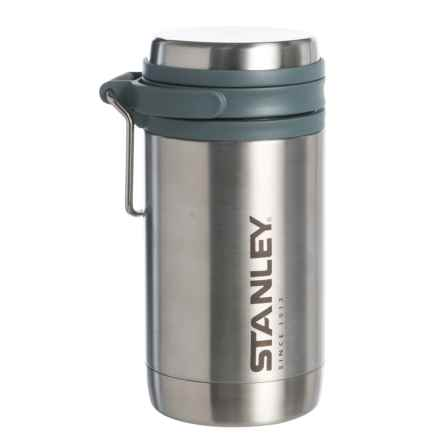 Stanley Mountain Vacuum-Insulated Travel Mug - 12 oz., Stainless Steel in Stainless - Closeouts