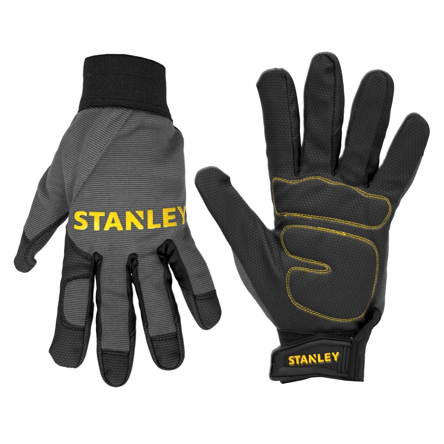 Stanley Padded Comfort Grip Work Gloves (For Men and Women