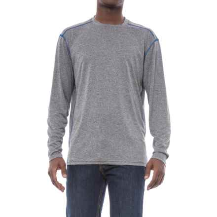 Stanley Performance Wicking T-Shirt - Long Sleeve (For Men) in Heather Grey - Closeouts