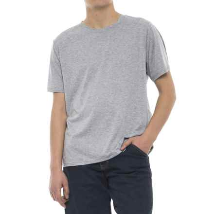 Stanley Performance Work Crew T-Shirt - Short Sleeve (For Men) in Heather Gray - Closeouts