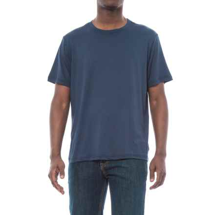 Stanley Performance Work Crew T-Shirt - Short Sleeve (For Men) in New Navy - Closeouts